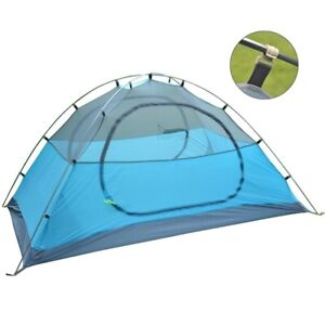 Camping Tent 1-3 Person Double Layer Outdoor Portable Waterproof Light Weight