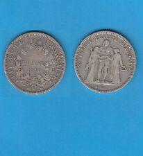/Gertbrolen/  Deuxième République  5 Francs Hercule argent  1848 Bordeaux