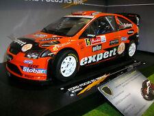 FORD FOCUS RS WRC08 #6 EXPERT RALLYE MEXIQUE 2010 au 1/18 d SUNSTAR 3952 voiture