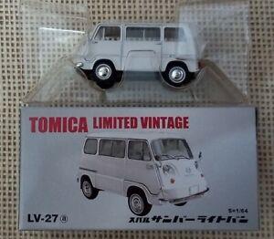 Classic Tomica Limited Vintage Tomytec LV-27a Subaru Sambar Year 2006 with Box
