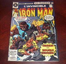 Editions Heritage Invincible Iron Man # 43 1976 French Edition Black White