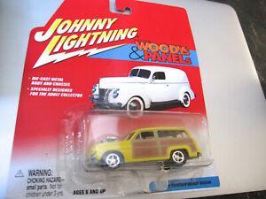 2002 JOHNNY LIGHTNING 'WOODY'S & PANELS' SERIES 1950 MERCURY WOODY WAGON