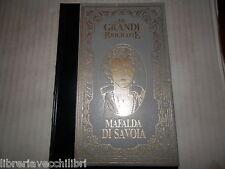 VITA DI MAFALDA DI SAVOIA Osvaldo Pagani Peruzzo 1985 Biblioteca storia libro di