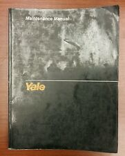 Yale D5, 4 Cylinder Gasoline, LPG Engine Maintenance Manual (1493)