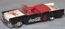 """Coca-Cola, Coke 3"""" Black, Red & White Car """"Coca-Cola"""" & """"Coke"""""""