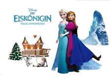 Wandtattoo Wandsticker Kinderzimmer Disney Elsa Frozen die Eiskönigin W226