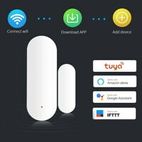 WiFi Door Window Sensor Detector Home Safety Alarm System for Google Alexa Tuya
