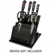 Wusthof Empty Magnetic Dark Grey Knife Block for Up to 6 Knives 150003