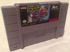 Mario's Time Machine Super Nintendo SNES * Cleaned & Tested *