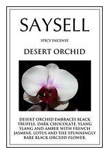 Desert Orchid Spicy 20 Incense Joss Sticks Agarbatti - TOP QUALITY FRAGRANCE