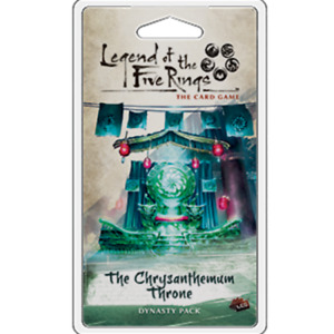 Legend of the Five Rings LCG The Chrysanthemum Throne - NEW Board Game - AUS Sto