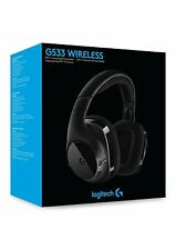 Logitech G533 Wireless Gaming Headset DTS 7.1 Surround Sound Pro-G Audio Drivers
