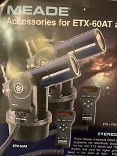Meade Etx-60At Digital Motorized Refractor Automatic Telescope With Autostar