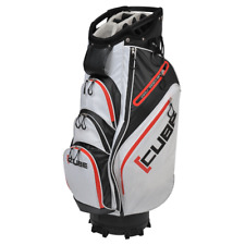 Skymax Cube Water Resistant Cart Bag 14 way Divider In Black/White/Red Brand New