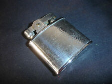 Old Vtg Collectible Continental R Silver Tone Cigarette Lighter