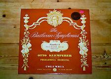 Columbia SAX 2260 Klemperer/Beethoven Sym No.6/ PO/Semi Circle 2nd Pressing