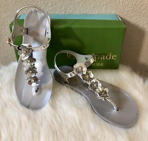 NEW Kate Spade farrah floral jelly sandals Sz 7🌺