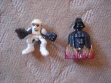 "Star Wars: Darth Vader Burning 3"" & Galactic Heroes Scout Trooper 2"" Figures"