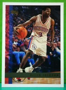 Allen Iverson regular card 1997-98 Topps #54