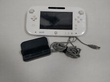 ** Nintendo Wii U Gamepad controller ~ White ~ Parts or Repair ONLY ~ AS IS