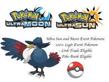 Pokemon Ultra Sun and Moon Evil Leader Cyrus Honchkrow Japan Event Pokemon