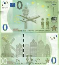 Biljet billet zero 0 Euro Memo - Schiphol Amsterdam Airport (013)