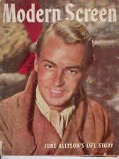 Modern Screen - Alan Ladd on Cover - 1945