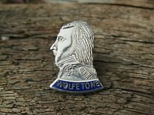 More details for original old stock 1966 irish republican pin badge - wolfe tone