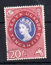 More details for kenya uganda tanganyika 1960 20/- very good used #198 ws13168