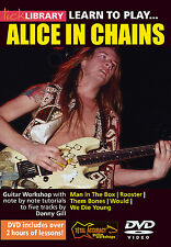 Lick Library LEARN TO PLAY ALICE IN CHAINS Guitar Instructional Video DVD Lesson