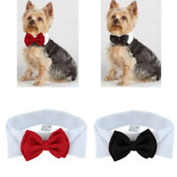Adjustable Cute Bow Tie Collar Necktie Bowknot Clothes For Pet Dog Cat Puppy Hot