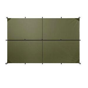Aqua Quest Safari Sil Tarp - 100% Waterproof - 3 x 2 m (10 x 7 ft) Medium -Olive