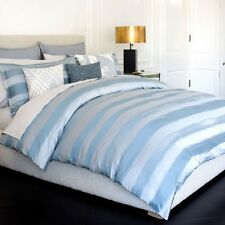 $375! NEW Kelly Wearstler Zuma Shore Blue QUEEN Duvet Cover - GORGEOUS!
