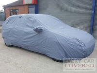 HEAVY DUTY COTTON LINED FULL CAR COVER FOR TOYOTA YARIS BLUE 3d 99-05
