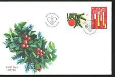 FINLAND - CHRISTMAS set FDC 2018
