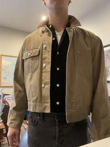Pre RRL - Vintage Polo Dungarees Ralph Lauren Work Shirt Jacket Small