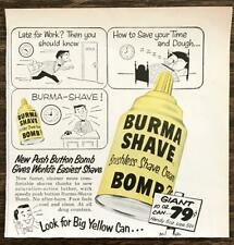 "Nostalgic Burma Shave 14/""x14/"" Round 24g Reproduction Metal Sign RVG1448"