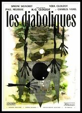 Les Diaboliques 2  Horror Movie Posters Classic & Vintage Cinema