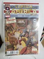 CAPTAIN AMERICA COMICS #1 70TH ANNIVERSARY HITLER VARIANT MARVEL  NM  (E712)