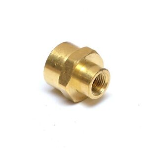 """Reducer 3/8"""" to 1/8"""" Npt Female Pipe Adapter Coupler Brass Fitting Water Oil Gas"""