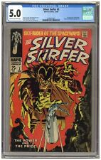 Silver Surfer #3 (CGC 5.0) 1st app. Mephisto; Tales of the Watcher; 1968 (j#6381