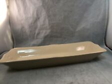Inca Ware Shenango China Cream Rectangular Cracker Tray Relish Dish