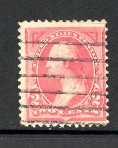 US Scott # 250a - Used - CV=$8.50 - Rose Color