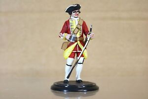 TRADITION of LONDON 80mm BRITISH INFANTRY CENTER COMPANY SOLDIER 1750 nq