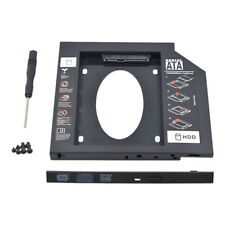 SATA 2nd HDD SSD Caddy de disco cubierta rígida para 9.5 mm Universal Portátil CD/DVD-ROM