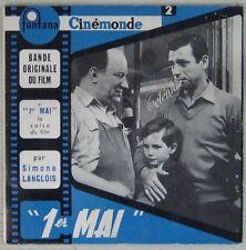 Yves Montand 45 tours 1er Mai 1958
