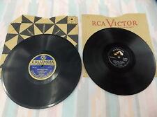 "Elvis Presley and The southern Negro Quartette vintage 78 rpm 10"" records pair"