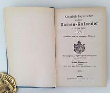 Königlich Bayerischer Adeliger Damenkalender 1889,  Adelsbesitz, Coat of Arms