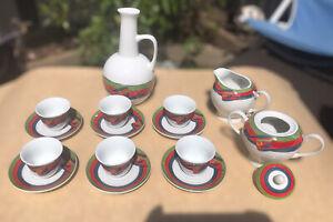 Ethiopian / Eritrean Coffee Cup Sets / Traditional Coffee Ceremony Set 22 PCS