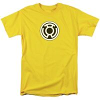 "Green Lantern Sinestro Corps Logo ""Yellow"" T-Shirt DC Comics Sizes S-3X NEW"